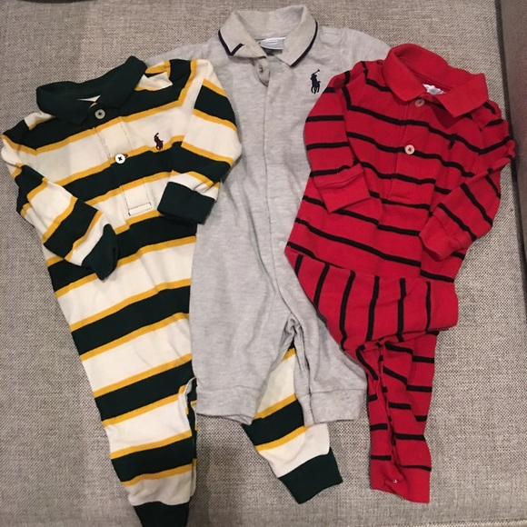 01f10fd5e Polo by Ralph Lauren One Pieces | Ralph Lauren 3 Month Snap Onesies ...